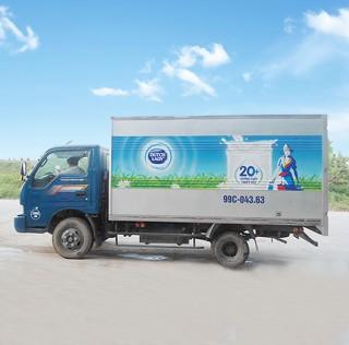 Trang trí quảng cáo xe