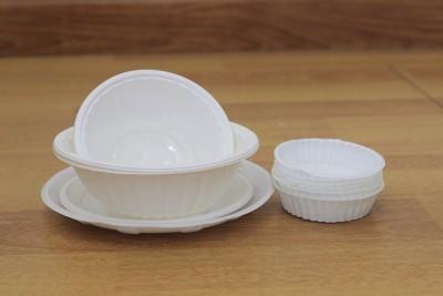 Dĩa, tô, chén nhựa